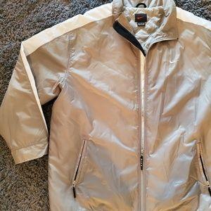 Mens Nike Full Zipper Polyester Jacket 2XL